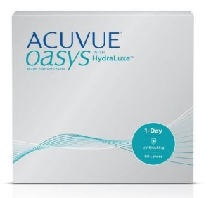 ACUVUE® OASYS 1-Day with HydraLuxe® Technology
